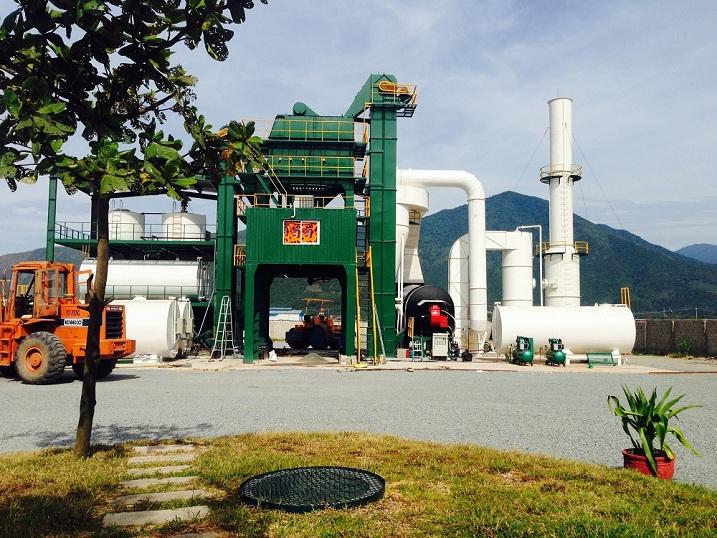 Trạm bê tông asphalt 120T/H tại Quảng Bình